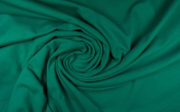 Baumwoll Jersey uni, grasgrün