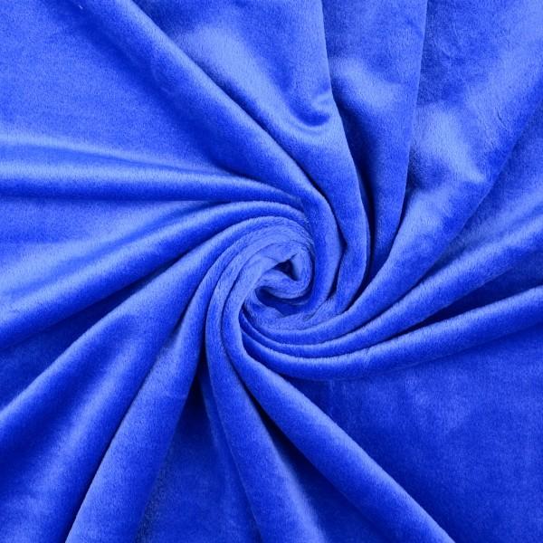 Nicki Fleece uni, royalblau