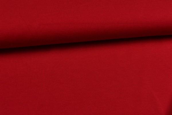 Jersey Punta de Roma uni, rot schwere Qualität