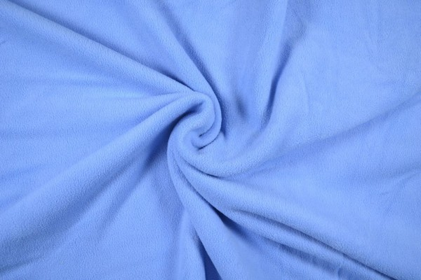 Polar Fleece anti pilling uni, hellblau