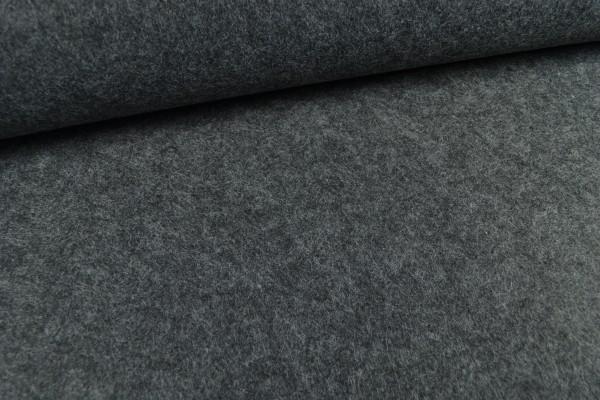 Filz, 3mm, 90cm breit, dunkelgrau melange