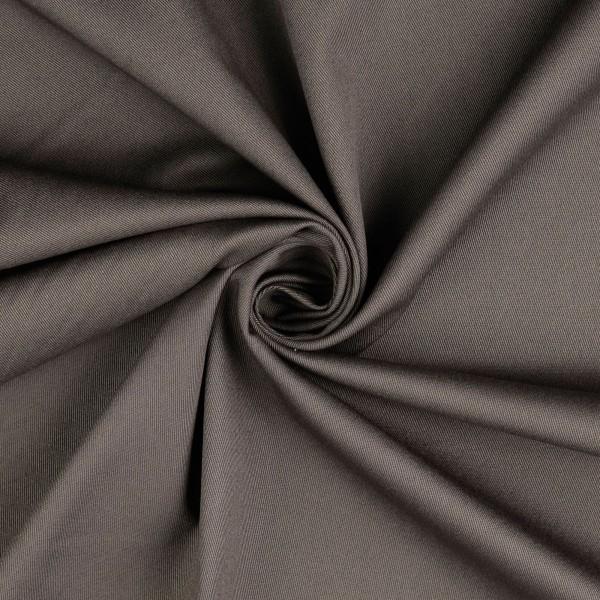 Stretch Baumwolle uni, grau