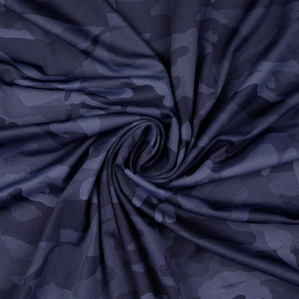 Funktionsjersey Camouflage, dunkelblau