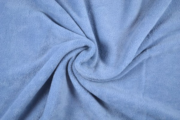 Polar Fleece anti pilling uni, rauchblau