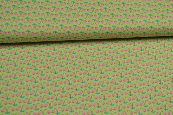 Baumwolle floral gemustert, mit kleinen Blümchen