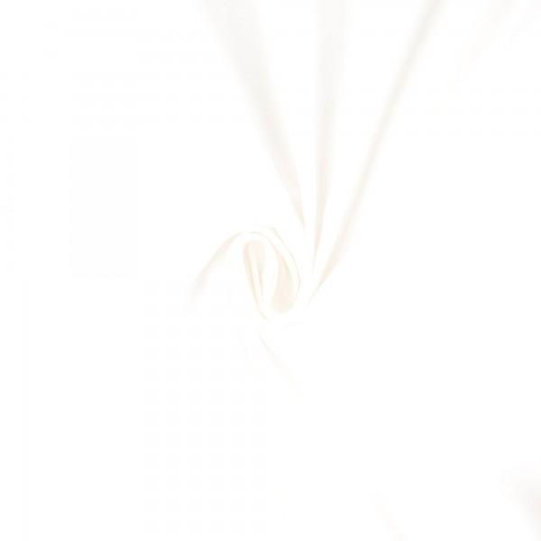 Baumwoll-Cretonne uni, weiß