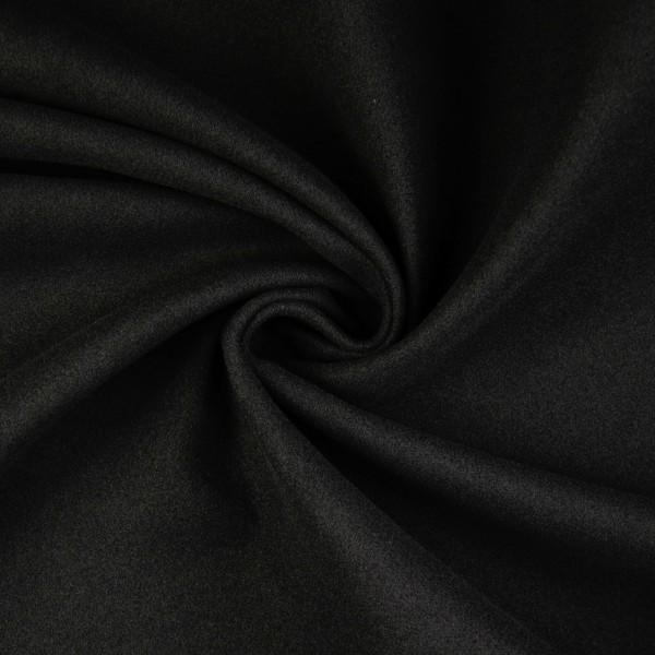 Mantelflausch uni, schwarz