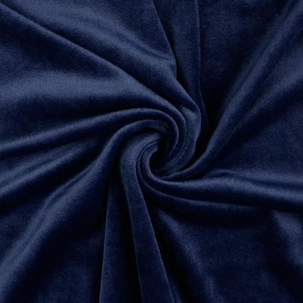 Nicki Fleece uni, marine/dunkelblau