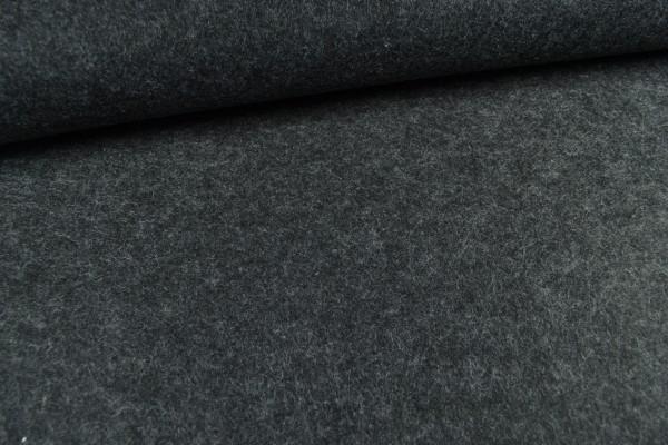 Filz, 3mm, 90cm breit, anthrazit melange