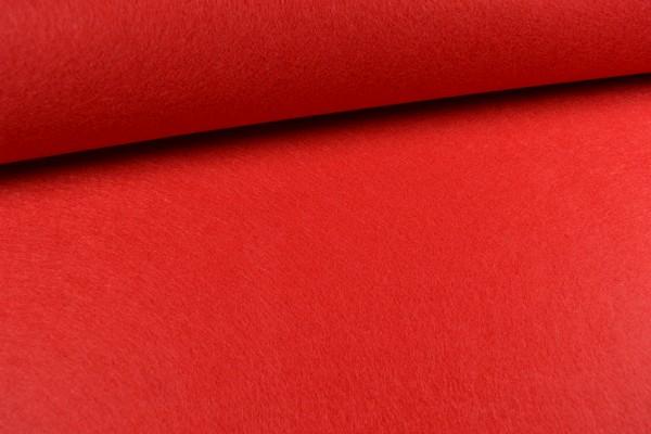 Filz, 3mm, 90cm breit, rot