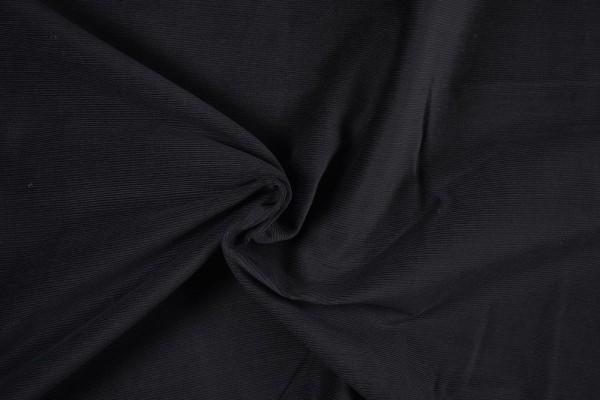 Stretch Cord uni, schwarz