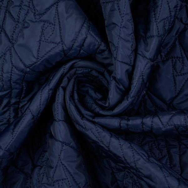 Steppstoff Milliblus Doubleface, dunkelblau/bordeaux
