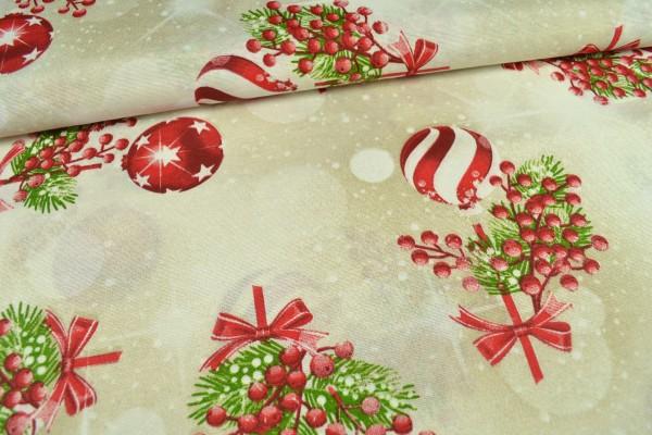 Canvas Deko Stoff, Weihnachten
