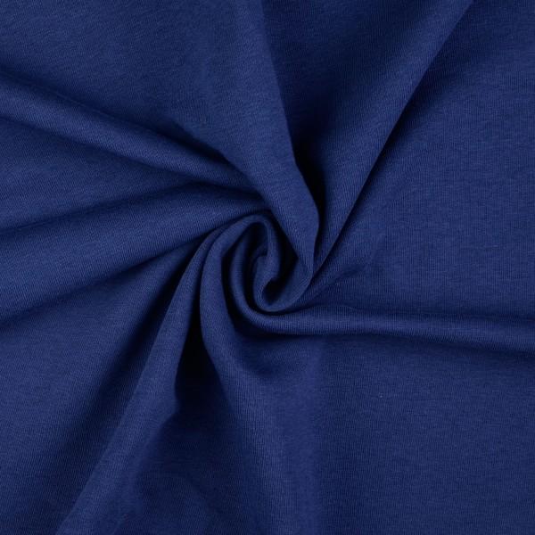 Sweatstoff uni, marine/dunkelblau