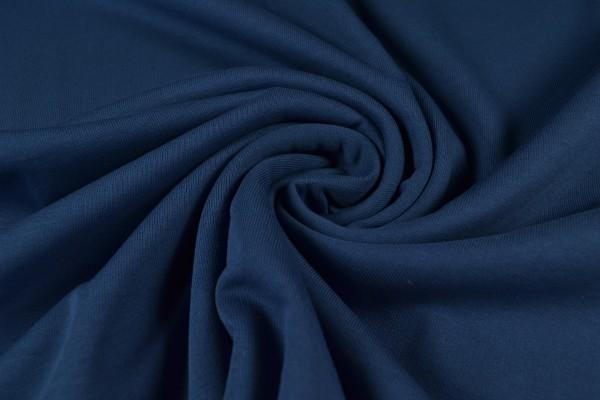 Sweatshirt uni, dunkelblau/jeansblau