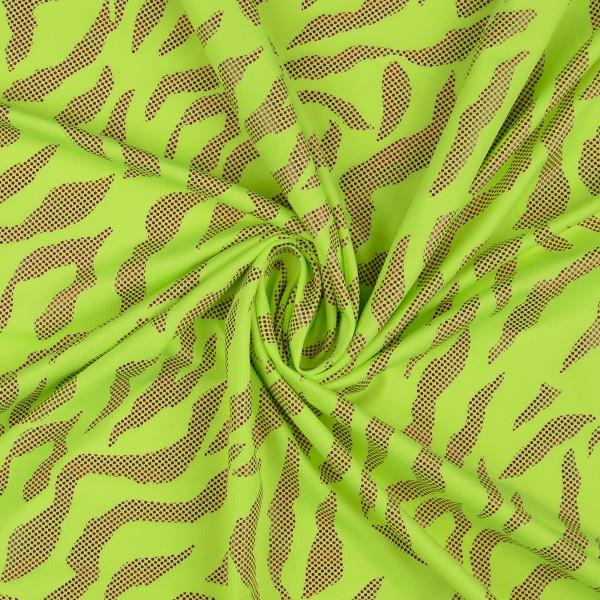 Elastic Folienjersey, grün