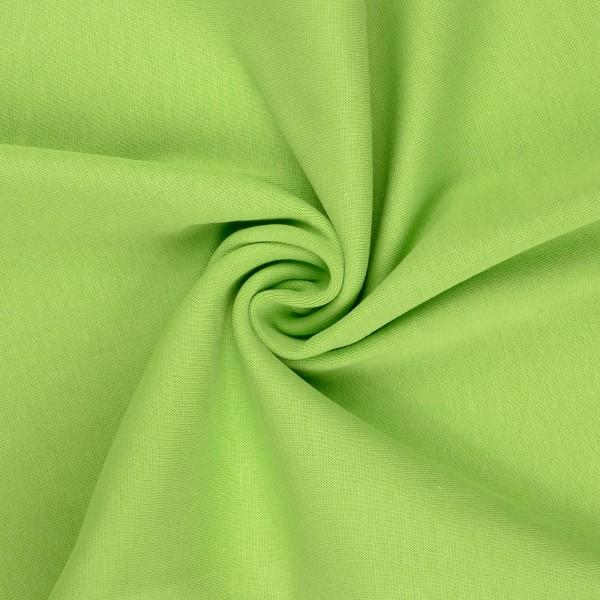 Bündchenstoff glatt, kiwi/grün