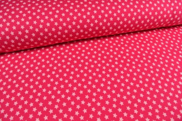 Sweatshirt Sterne angeraut, pink