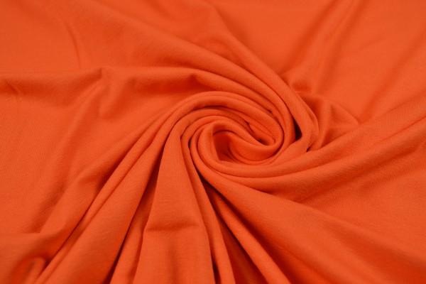 Viskosejersey uni, orange