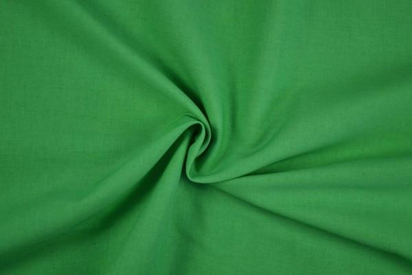 Stretch Baumwolle uni, grün