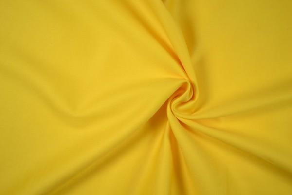Baumwollstoff Köper, gelb