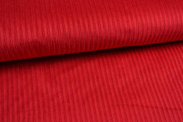 Breitcord uni, rot