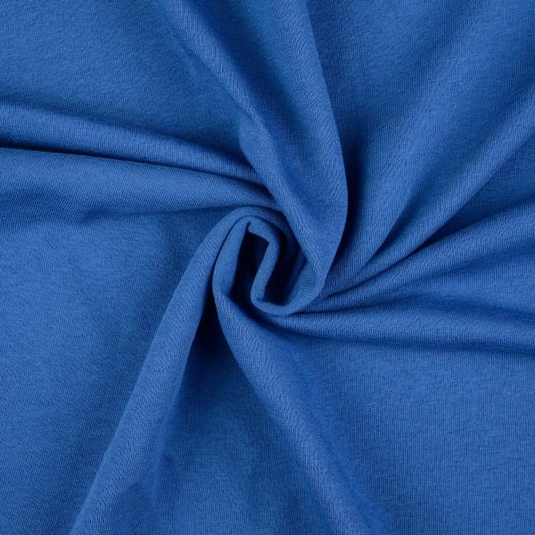 Sweatstoff uni, royalblau