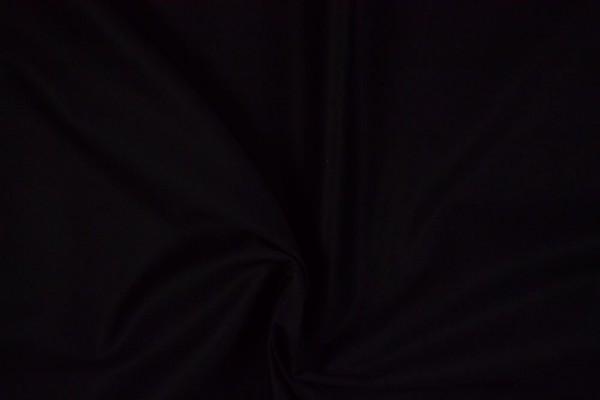 Baumwollstoff Köper, schwarz