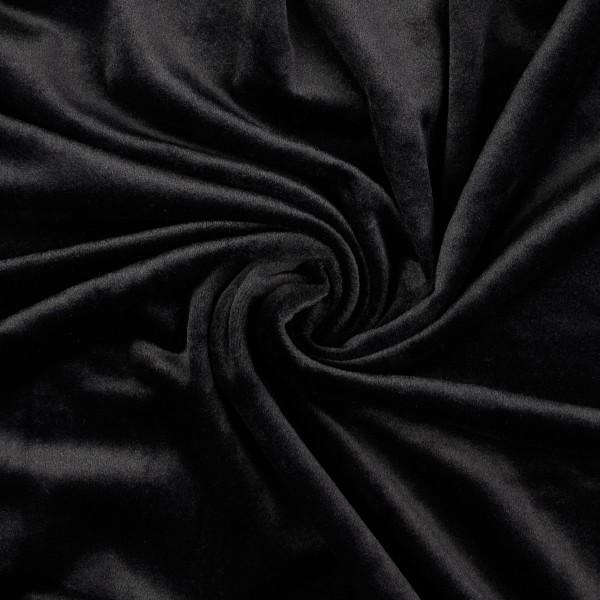 Nicki Fleece uni, schwarz