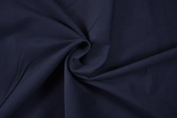 Stretch Cord uni, dunkelblau/marine