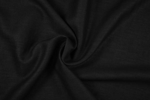 Leinenstoff Ramie gewaschen , schwarz