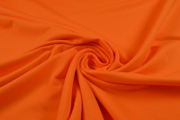 Baumwolljersey, French Terry uni, orange