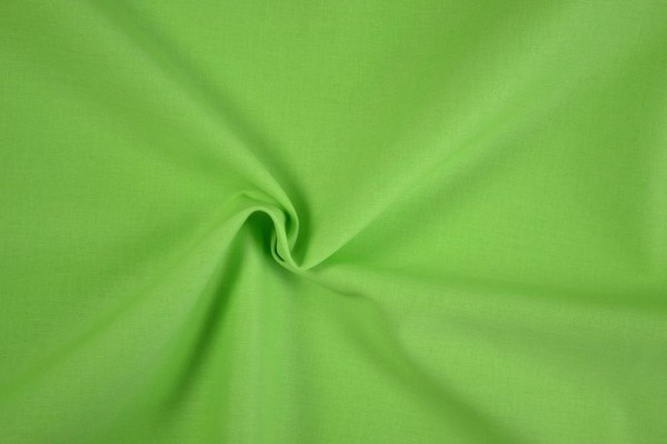 Stretch Baumwolle uni, hellgrün