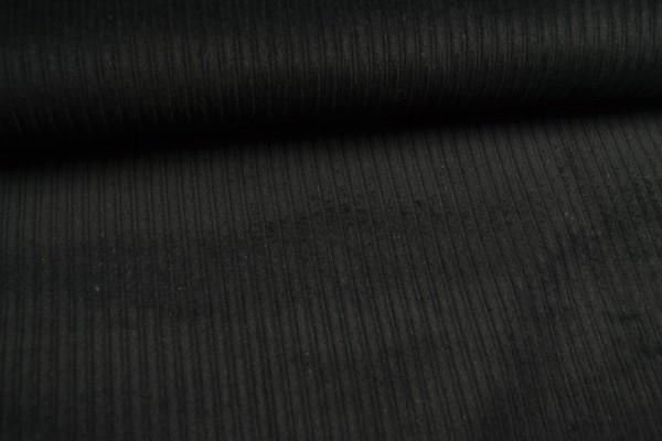 Breitcord uni, schwarz