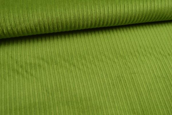 Breitcord uni, kiwi/grün
