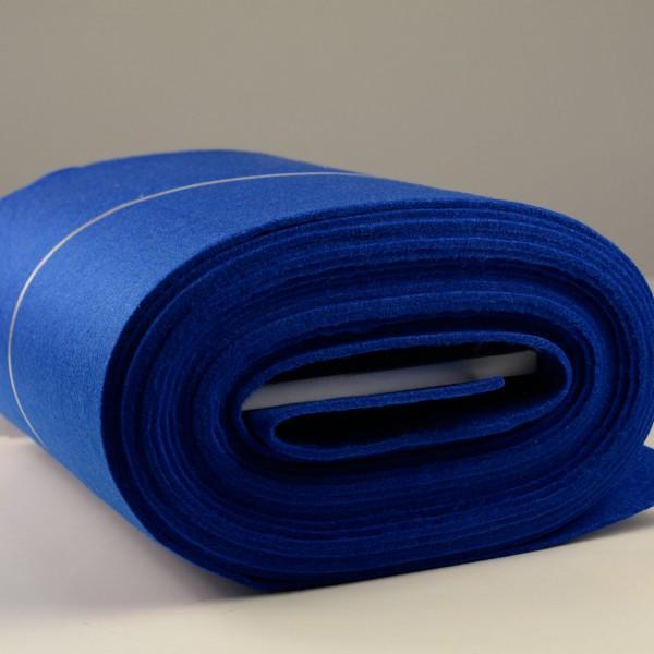 Bastelfilz Meterware, 4 mm dick harte Qualität, blau