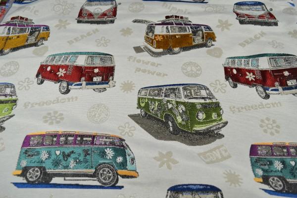 Gobelin Möbelstoff, Hippie Bus