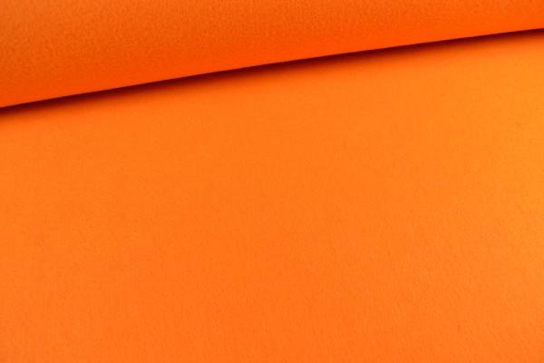 Filz, 3mm, 90cm breit, orange