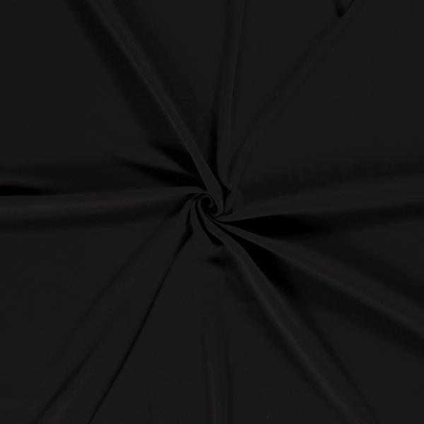 Alpenfleece uni, schwarz