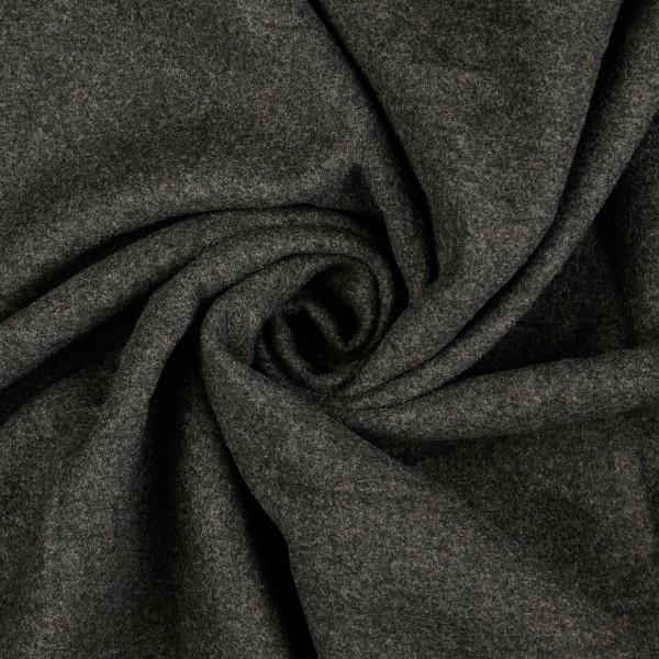 Mantelflausch melange, schwarz