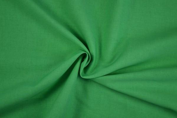 Baumwollstoff Köper, grün
