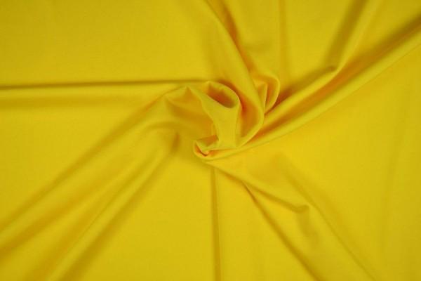 Badeanzugstoff uni, gelb