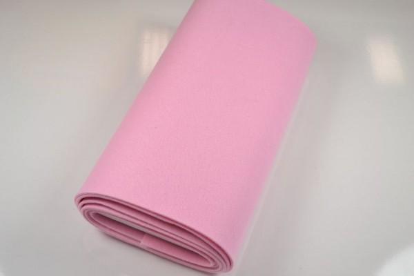 Bastelfilz Meterware, 4 mm dick harte Qualität, rosa