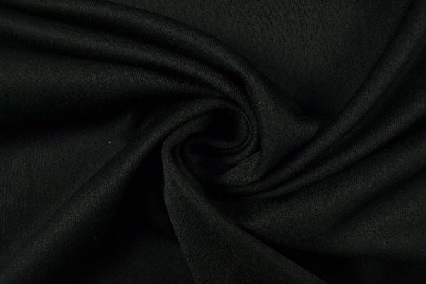 Loft Krepp Trevira 2000 uni, schwarz