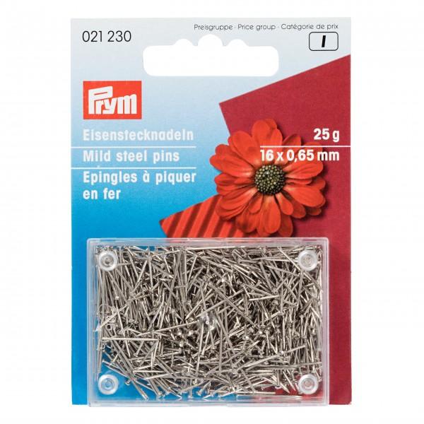 Prym Bastelstecknadeln, 0,65 x 16mm, silberfarbig