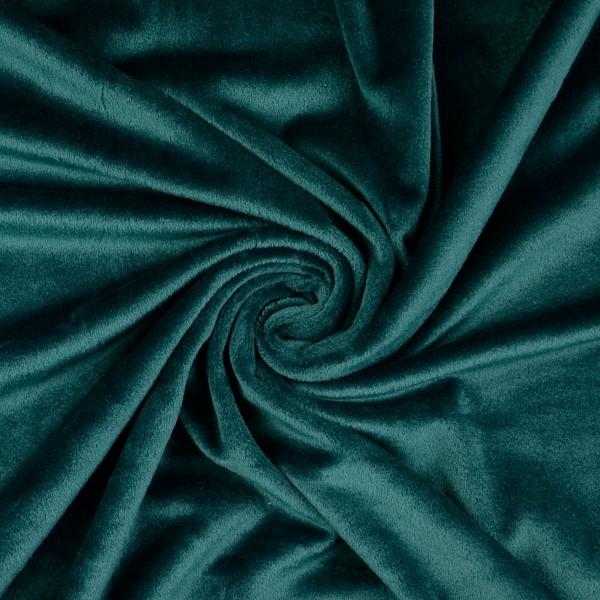 Nicki Fleece uni, tannengrün