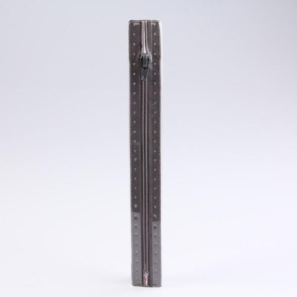 Prym Reißverschluss Fla S1, Typ 0, dunkelgrau