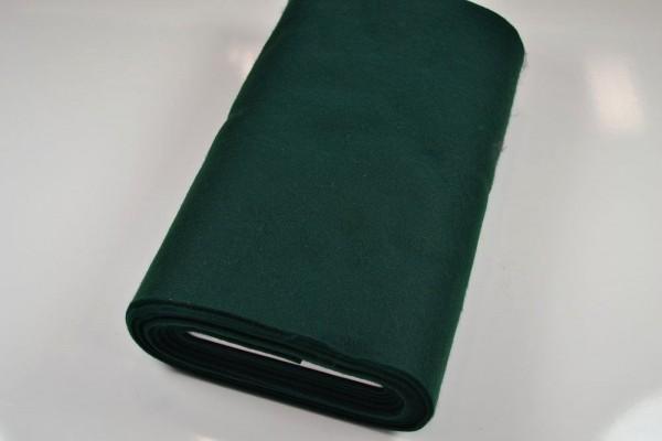 Bastelfilz Meterware 4 mm dick harte Qualität, tannengrün
