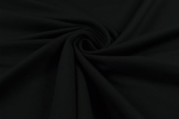 Baumwolljersey, French Terry uni, schwarz