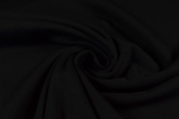 Sweatshirt uni, schwarz